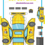 ebook cover for cut out cars 3D book
