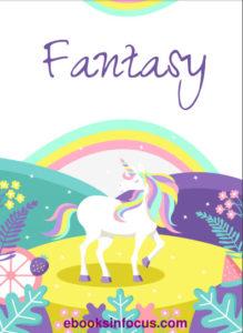ebook cover for fantasy colouring book
