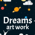 ebook cover for dreams art colouring book