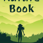 ebook cover for nature art colouring book