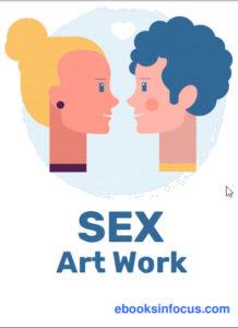 ebook cover for sex art colouring book