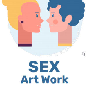 ebook cover for sex art colouring book