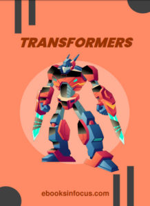 ebook cover for transformers colouring book
