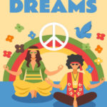 ebook cover for yoga dreams colouring book