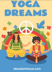 ebook cover for yoga dreams colouring book